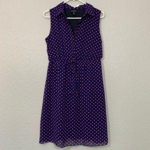 En Focus Studio NWT Polka Dot Sleeveless Dress